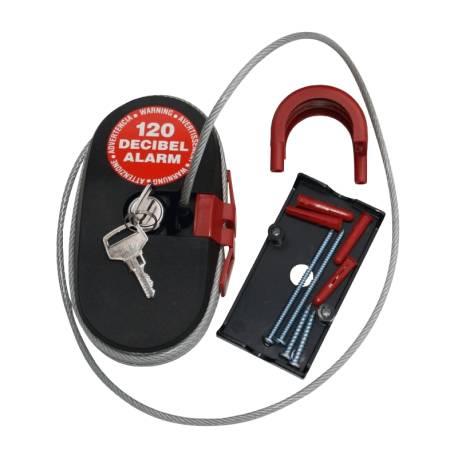 Câble anti-vol avec sirène LOCK-ALARM 4.6m