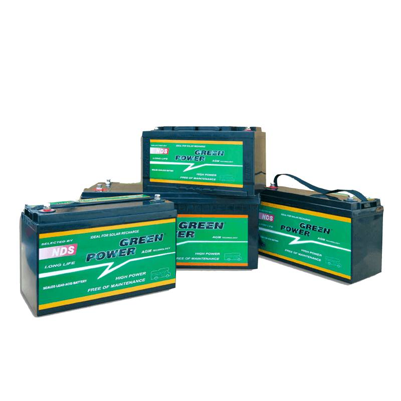 ⇒ Batterie auxiliaire AGM 12V Green Power NDS C:20