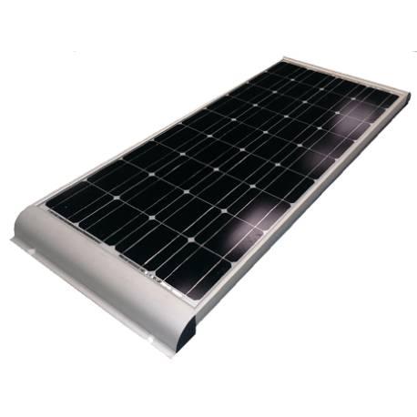 Panneau Solaire Monocristallin 100Wp AERO avec profilé de fixation intégré