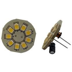 Ampoule LED G4-T9B Blanc Chaud ou Froid 1.5W 125lm