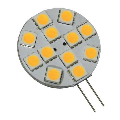 Ampoule LED G4-T12S Blanc Chaud ou Froid 2W 180lm