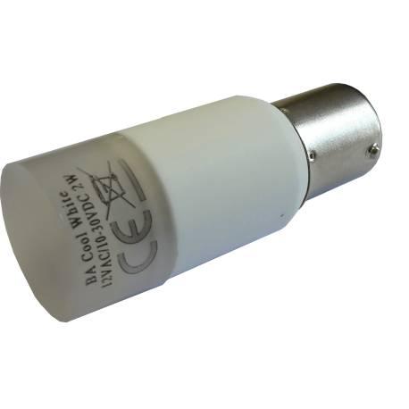 Ampoule LED BA15S-18B Blanc Chaud ou Froid 3.2W 170lm