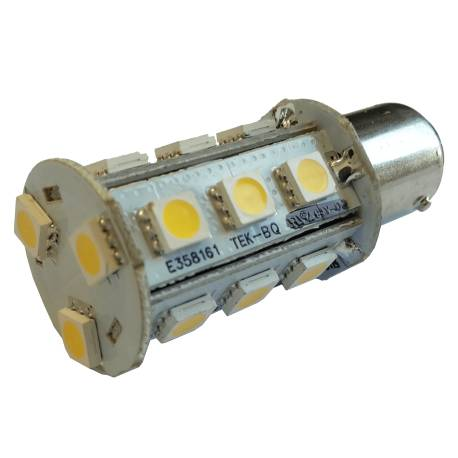 Ampoule LED BA15D-18B Blanc Chaud ou Froid 3.2W 170lm