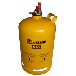 Réservoir GPL n°2 rechargeable 2.7kg / 6kg / 11kg Gaslow