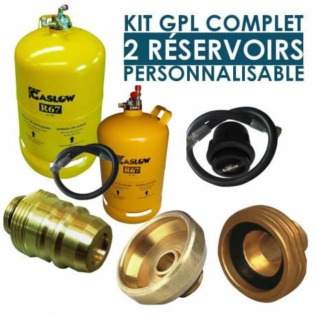 Kit GPL complet 2 réservoirs Gaslow R67