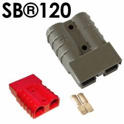Kit de connecteur Anderson série SB MÂLE/FEMELLE 2 Contacts, 600 V c.a./c.c. 120A