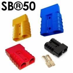 Kit de connecteur Anderson série SB MÂLE/FEMELLE 2 Contacts, 600 V c.a./c.c. 50A