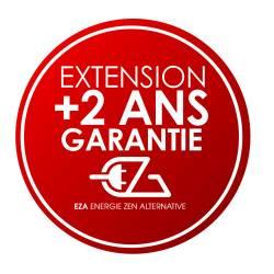 Extension de garantie de 3 à 5 ans pour EZA 80 et EZA 130