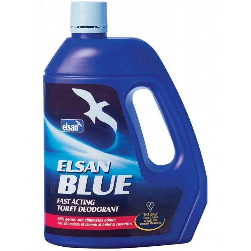 8 elsan bleu 2l pour toilettes chimiques - Produit pour wc chimique ...
