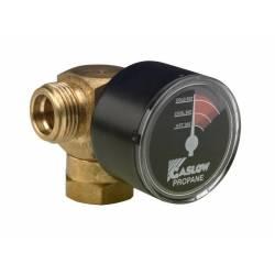 Manomètre inverseur manuel pour gaz Propane