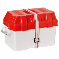 Boite à batterie rouge 270 x 190 x 200 mm