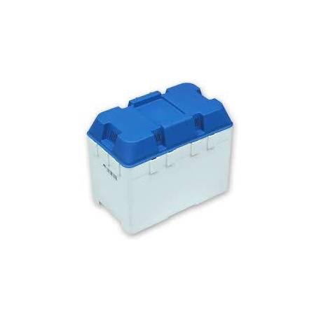 Boite à batterie bleu L 337 x l 197 x H 268 mm