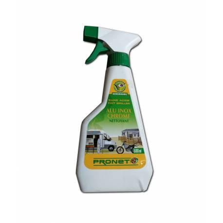 Nettoyant alu inox chrome PRONET