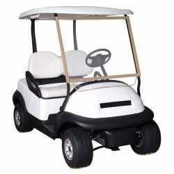 Pare-brise pour voiturette de golf