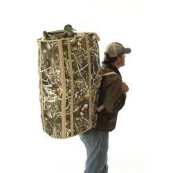 Abri camouflage pour chien de chasse