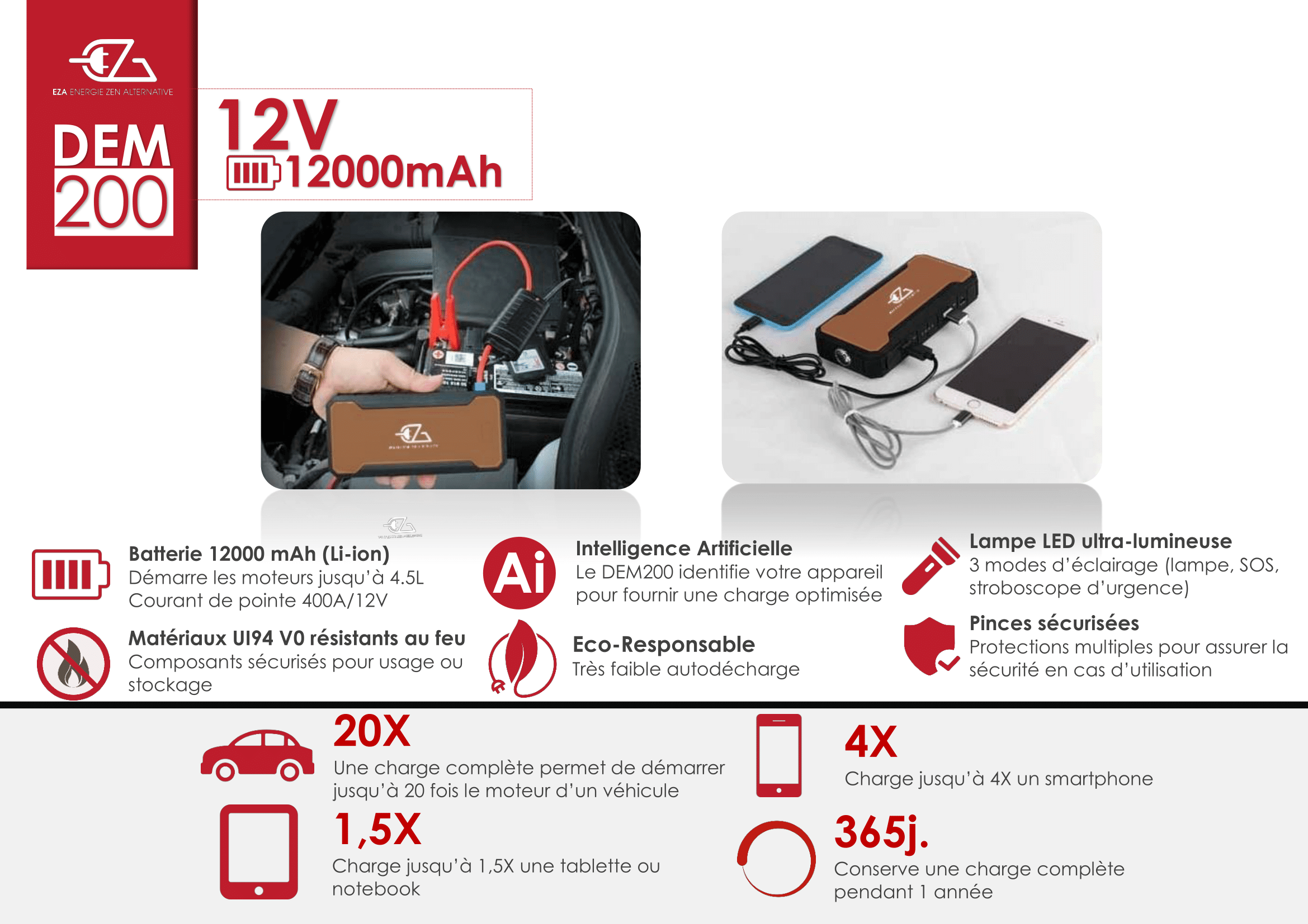 jump starter portable powerbank