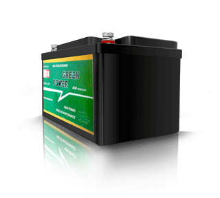 Batterie auxiliaire AGM à décharge lente NDS Green Power