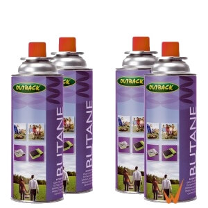 4 flacons gaz butane227gr pour chauffage ou réchaud gaz camping-car