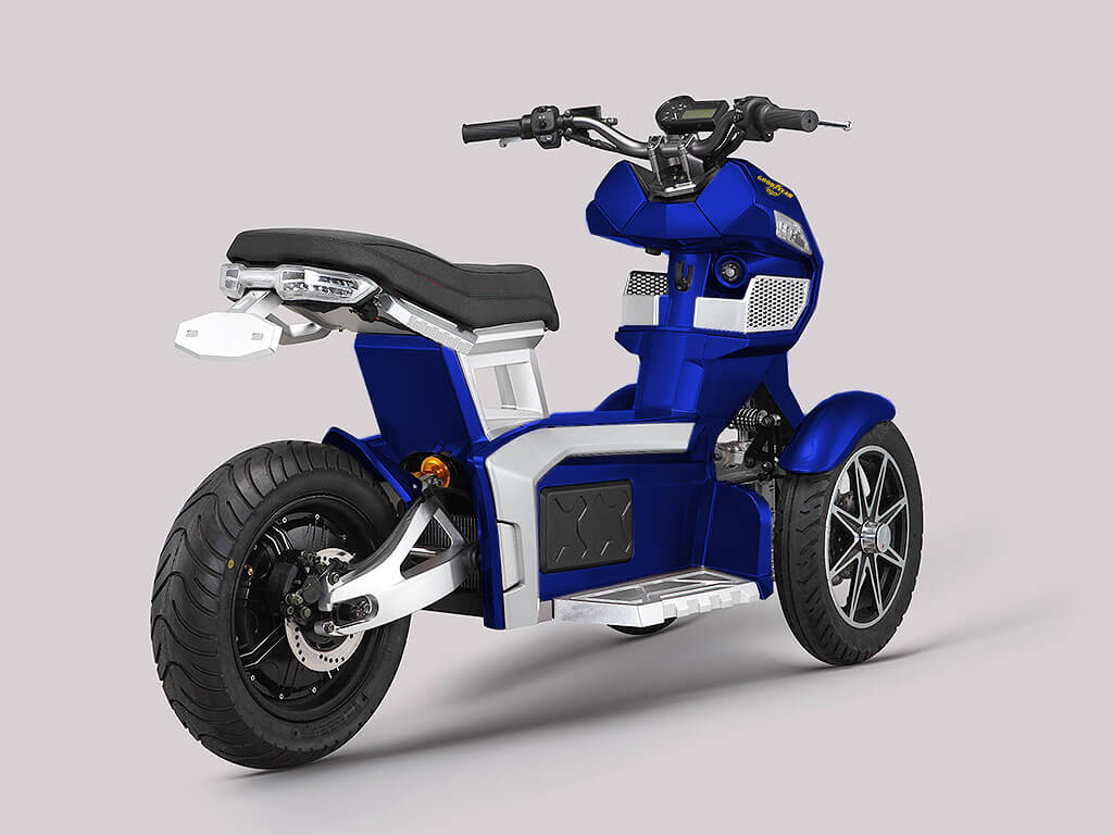 scooter électrique itrike goodyear ego2
