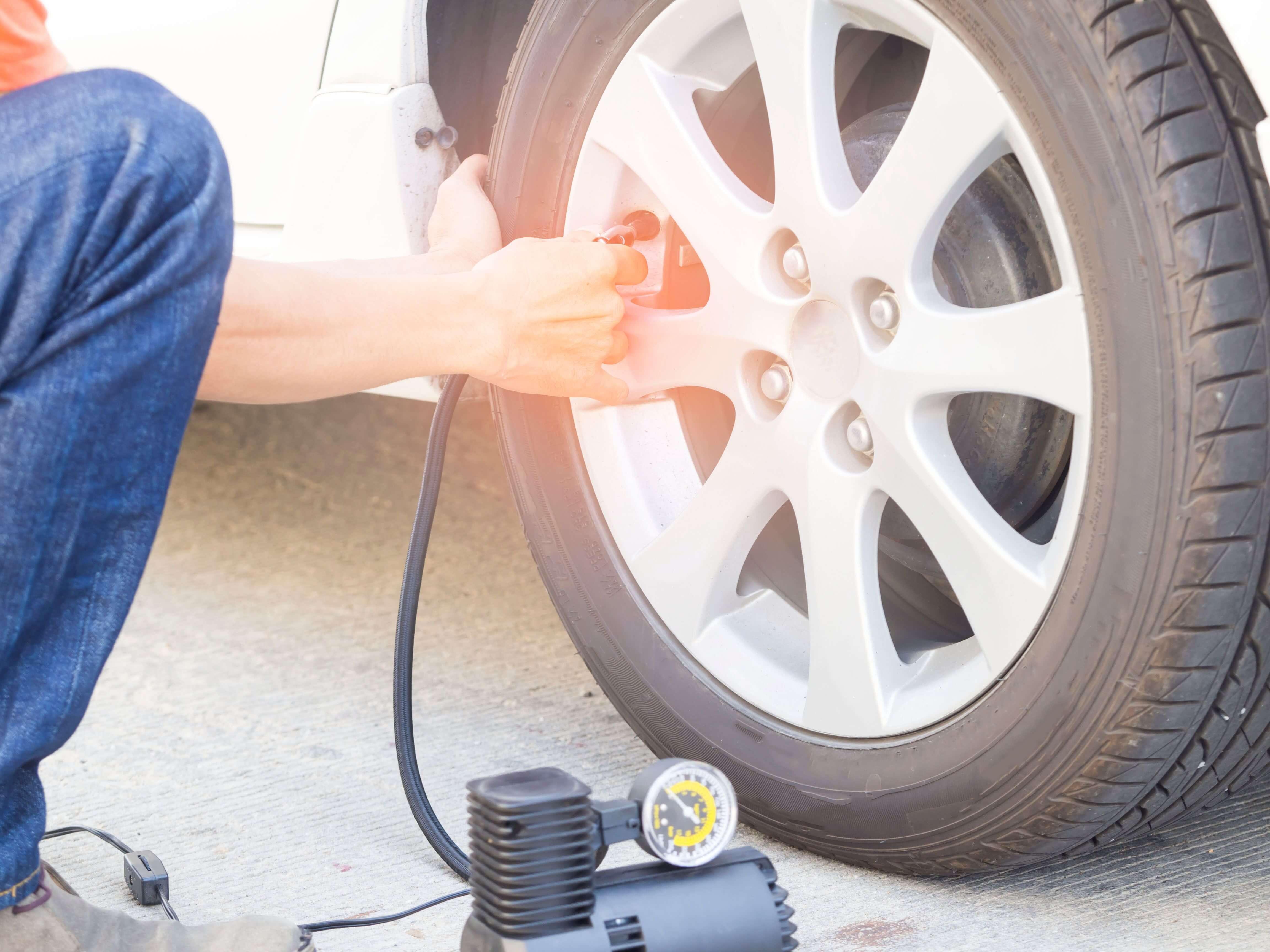 contrôle pression des pneus véhicules de loisirs