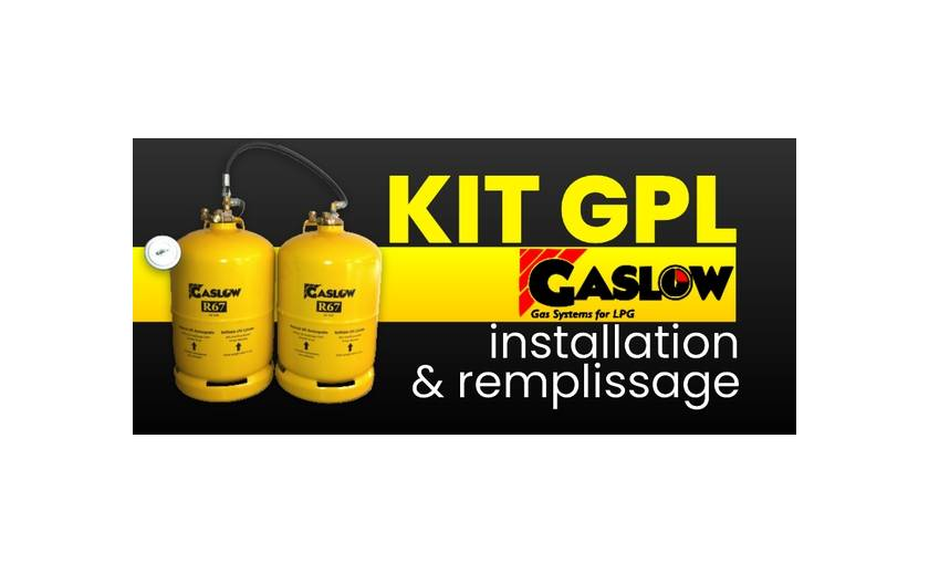 INSTRUCTIONS: Installer et utiliser un kit GPL Gaslow